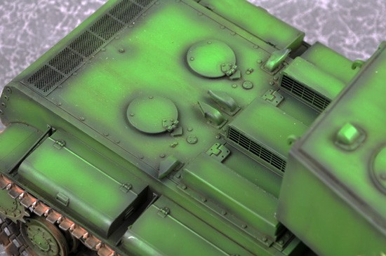 Trumpeter 5552 KV-5 Super Heavy Tank in 1:35