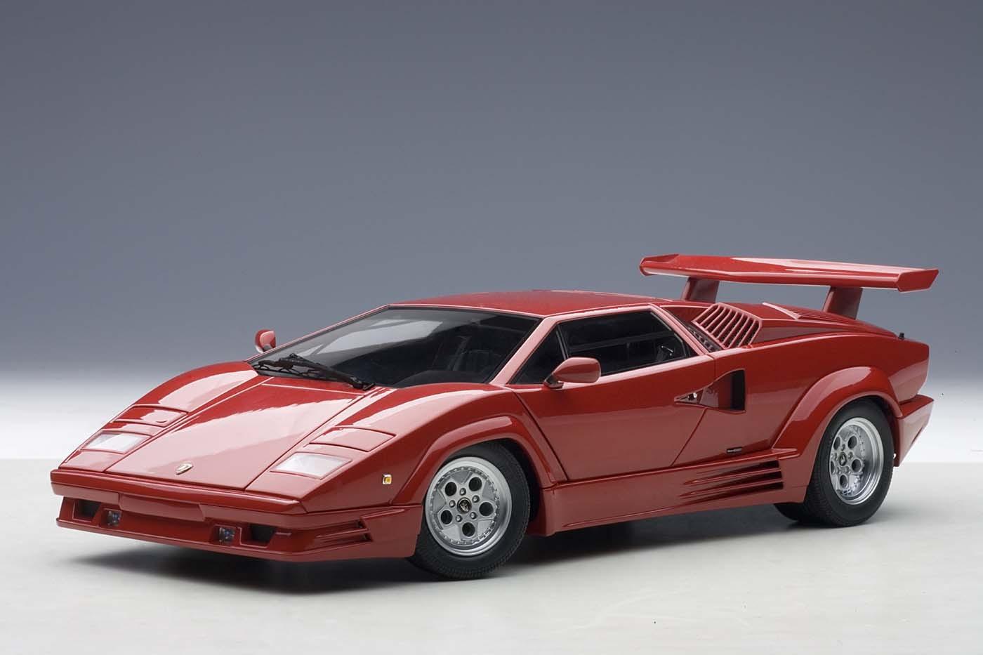 Lamborghini Countach 198825th Anniversary Edition Red Black Interior