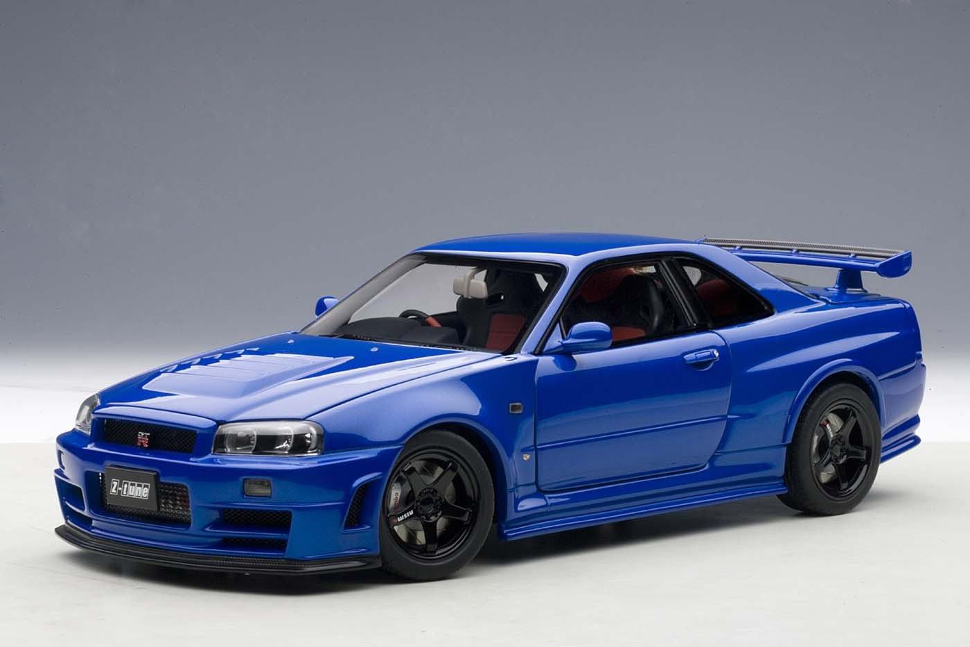 Nissan Skyline Gtr R34 Nismo Z Tune Bayside Blue