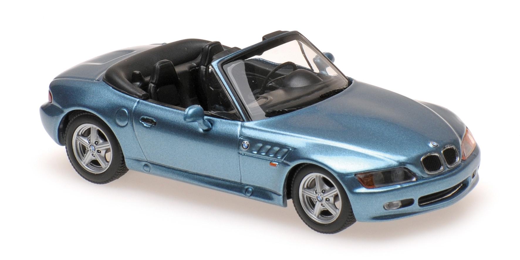 Bmw Z3 1997 Blue Maxichamps