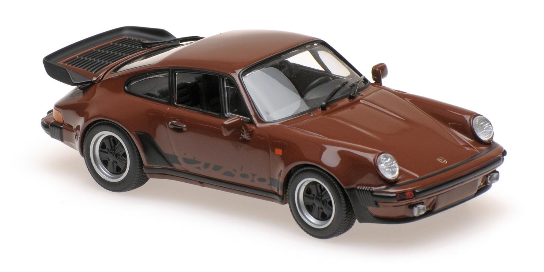 Porsche 911 Turbo 3 3 930 1979 Brown Maxichamps