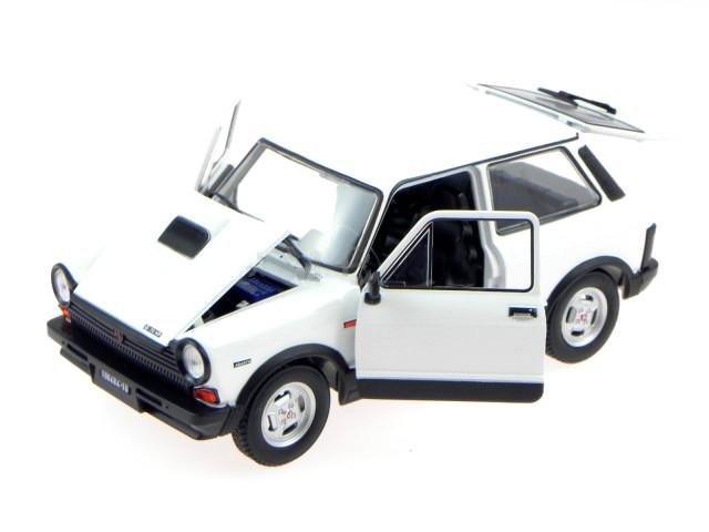 Die cast 1//24 leo models autobianchi a112 abarth 1979 auto vintage white