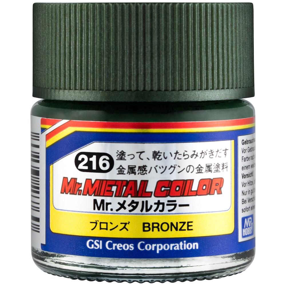 MC-216 Mr. Metal Color - Bronze (10ml)