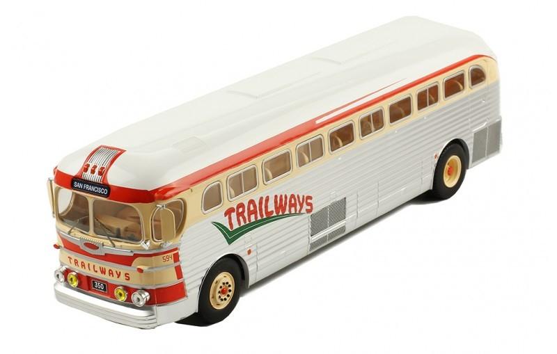 IXO 1 GMC PD 3751 Trailways 1955 43 /> nuevo