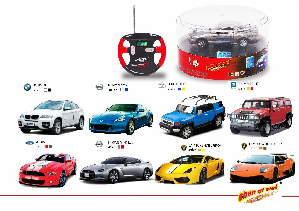 1 43 Licensed Rc Car Of 8 Diffe Brands Hobbyland
