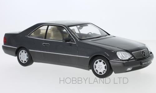 1:18 KK-Scale Mercedes 600 SEC C140 1992 anthracit