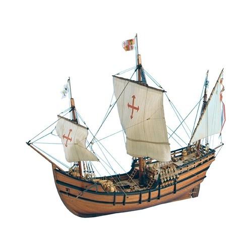 1 65 La Pinta Wooden Model Ship Kit