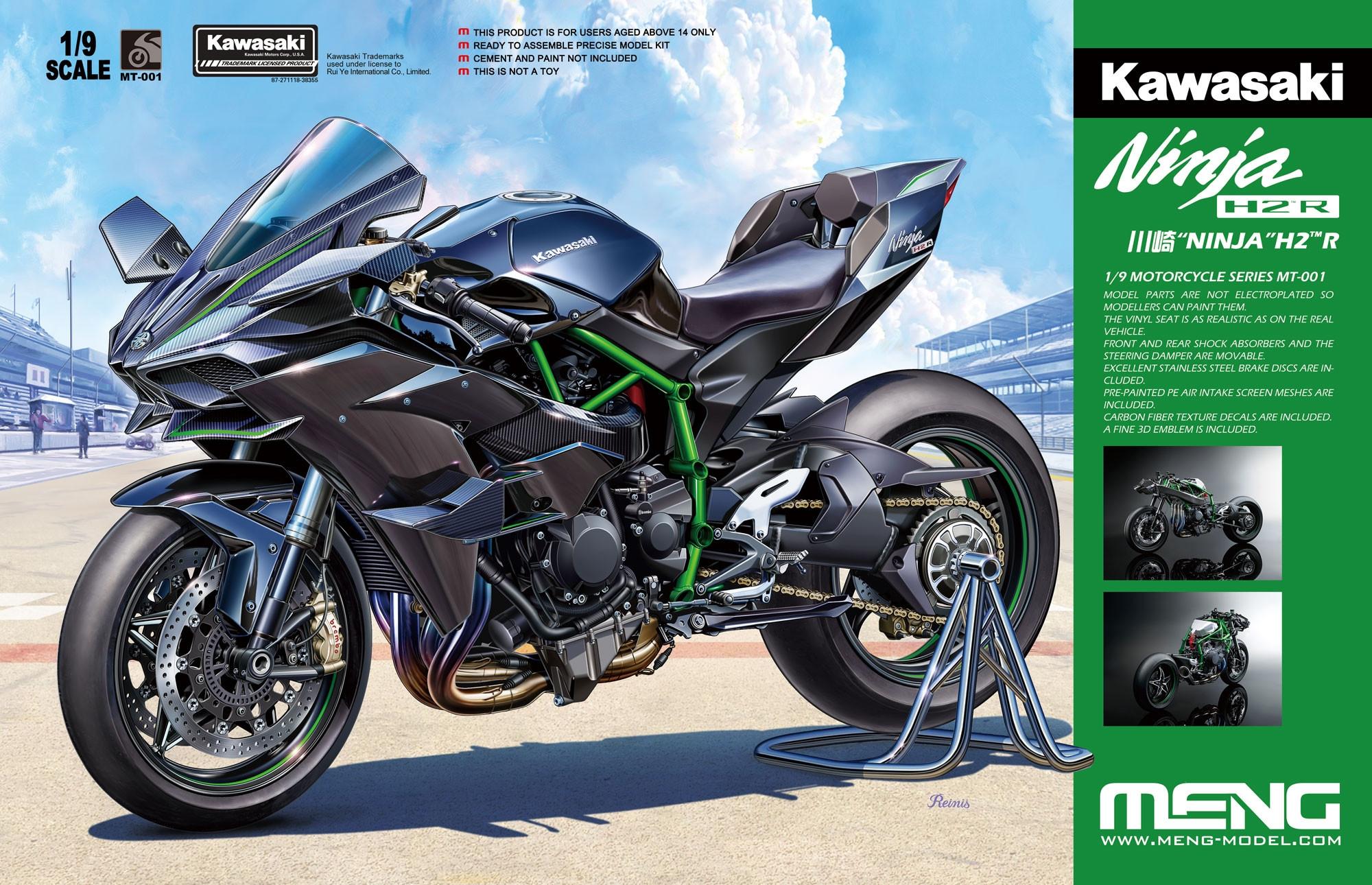 Kawasaki H2 Fuel Tank Damper Set