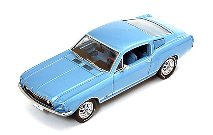 Ford Mustang GT Fastback 1967 Metallic Light Blue