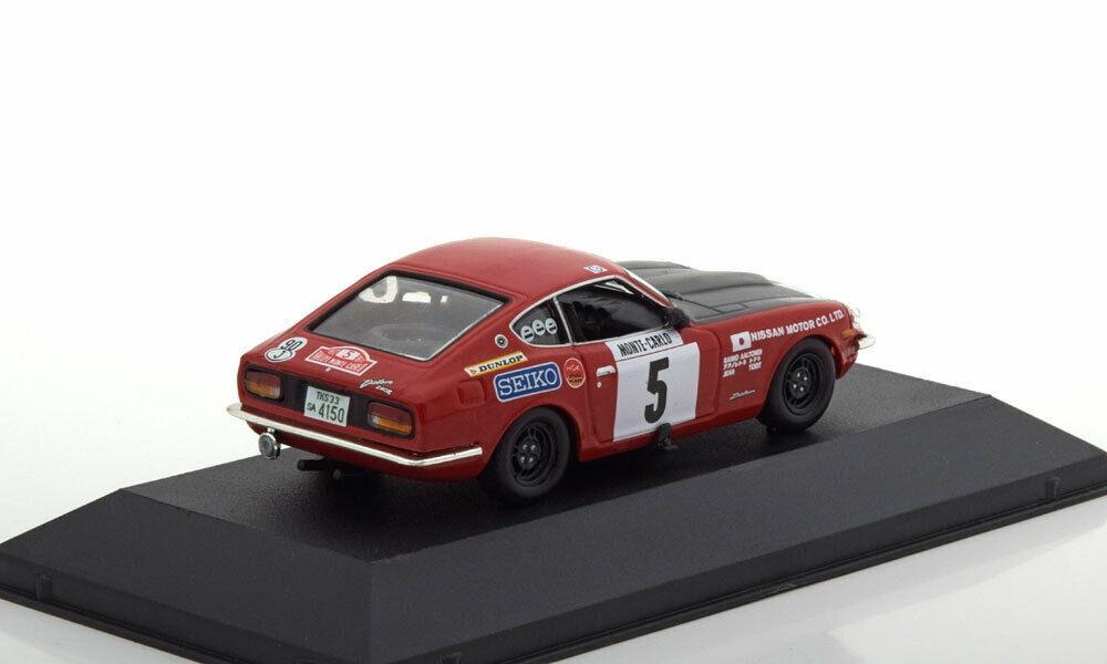 Scale model car 1:43 DATSUN 240Z #5 R.Aaltonen//J.Todt Rally Monte Carlo 1972