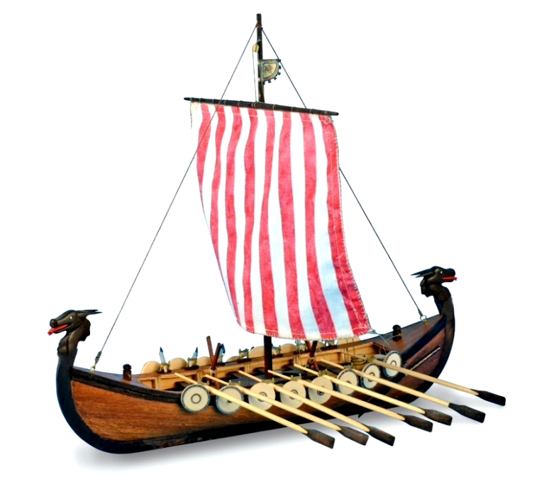 1 75 New Viking Wooden Model Ship Kit