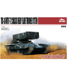 1:72 TOS-1A Heavy Flame Thrower System W/T-72 Chassis