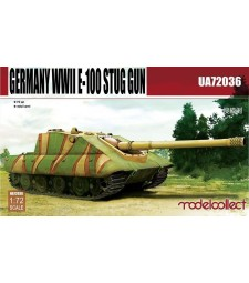 1:72 Germany WWII E-100 Supper Heavy Jagdpanther