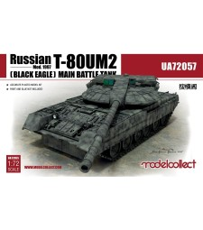 1:72 Russian T-80UM2 (Black eagle) Main Battle Tank