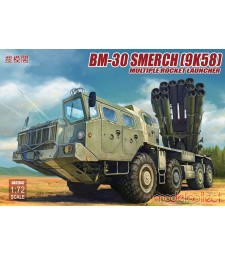 1:72 Russia BM-30 Smerch (9K58) multiple rocket launcher