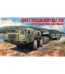 1:72 Soviet/Russian Army MAZ-7410 with ChMZAP-9990 semi-trailer