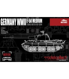 1:72 Germany WWII E-50 Medium Tank with 88 Gun