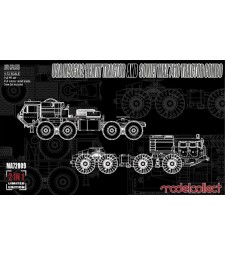 1:72 USA M983A2 HEMTT Tractor and Soviet MAZ 7410 tractor COMBO