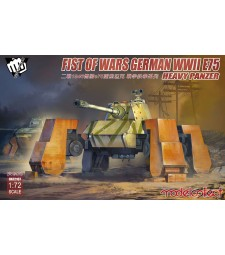 1:72 Fist of War German WWII E75 heavy panzer