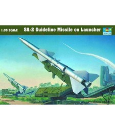 1:35 SA-2 Guideline Missile with Launcher Cabin