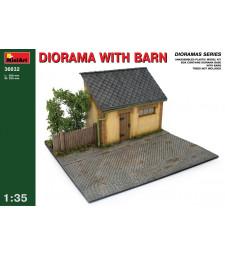 1:35 Diorama w/ Barn