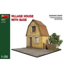 1:35 Village House with Base