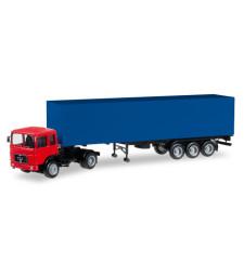 Herpa MiniKit: MAN F8 Box Semitrailer