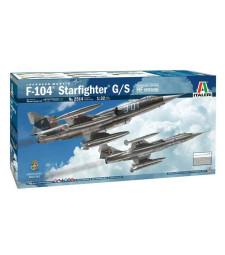 1:32 F-104 STARFIGHTER G/S Upgr.Edit. RF Version with GREEK DECALS