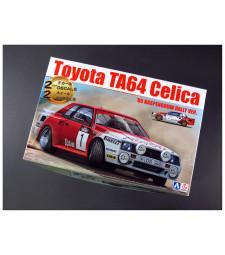 1:24 Toyota TA64 Celica '85 Haspengouw Rally Version