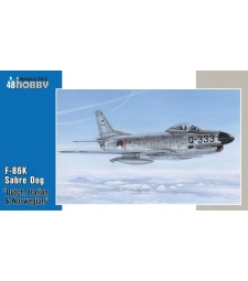 """1:48 F-86K """"NATO All Weather Fighter"""""""