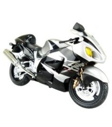 1:12 SUZUKI GSX1300R HAYABUSA BLACK - DIECAST MOTORCYCLE