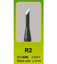 Master Tools Chisel R22mm, Round