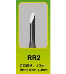 Master Tools Chisel RR23mm, Round