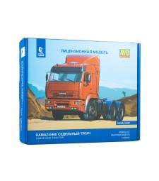 KAMAZ-6460 tractor truck - Die-cast Model Kit