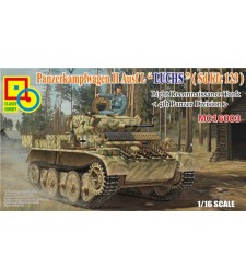 "1:16 PzKpfW II Ausf.L ""Luchs"" (Sd Kfz 123) Light Reconnaissance Tank, 4th Panzer Division"