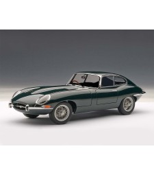 JAGUAR E-TYPE COUPE SERIES I 3.8 (GREEN / Metal wire spoke wheels) (RHD)