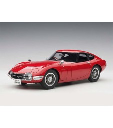 Toyota 2000GT Coupe 1965 (red, composite model/full openings)