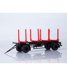 MAZ-83781 logging trailer