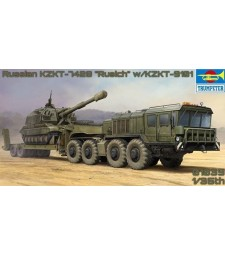 1:35 Russian KZKT-7428 Transporter with KZKT-9101 Semi-Trailer
