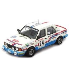 Skoda 130 L Rallye Automobile de Monte-Carlo 1987 #24 Haugland John & Vegel Petter