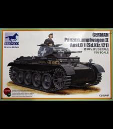 1:35 German PanzerKampfwagen II Ausf.D1(Sd.kfz.121)