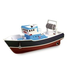 1:15 ATLANTIS Fishing Trawler. Suitable for RC (Build & Navigate series) - Wooden Model Ship Kit