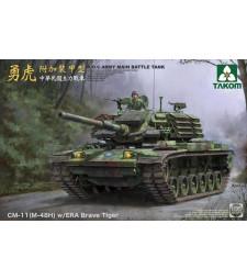 1:35 R.O.C.ARMY CM-11 (M-48H) w/ERA Brave Tiger MBT