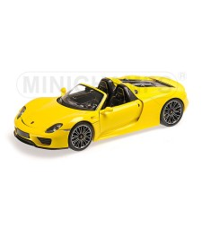 PORSCHE 918 SPYDER - 2013 - YELLOW