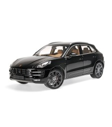PORSCHE MACAN TURBO - 2013 - BLACK METALLIC