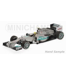 MERCEDES AMG PETRONAS F1 TEAM W03 - ROSBERG - 1ST WIN CHINESE GP - 2012