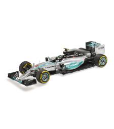 MERCEDES AMG PETRONAS F1 TEAM W06 HYBRID - NICO ROSBERG - USA GP 2015