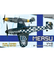 1:48 Mersu / Finland Dual Combo Bf 109G-2 and Bf 109G-6