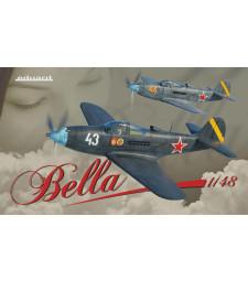 "1:48 P-39 Airacobra ""Bella"" - Dual Combo"