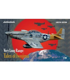 1:48 VERY LONG RANGE: Tales of Iwojima (US WWII fighter P-51D) Limited edition